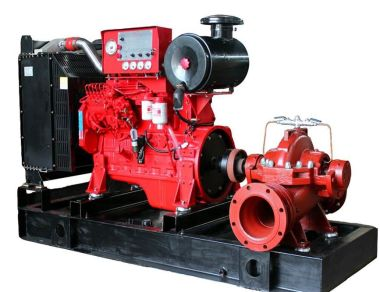 Diesel Pump Diesel Fire Pump SetBy Isuzu TechnologyCap 1000 GPM Head 80 MeterRefer to NFPA20 Control Engine Box diesel engine 7